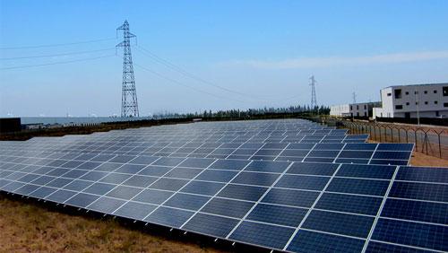 Centrale solaire au sol à Kénitra - Maroc