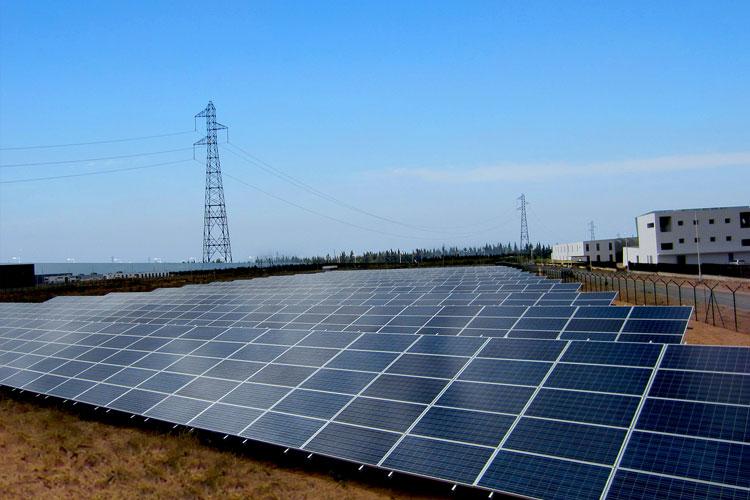 Solar power plant in Kenitra - Morocco