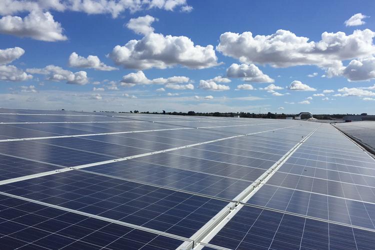 Centrale solaire sur toiture Skhirat - Maroc