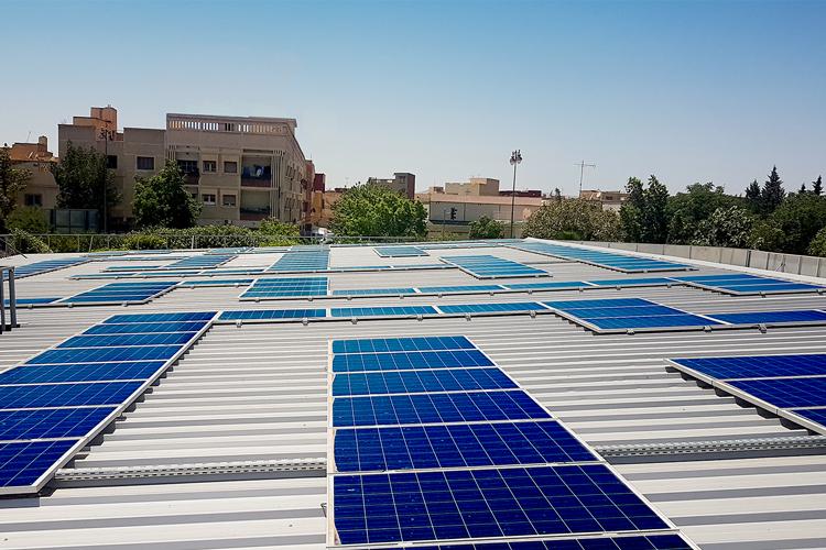 Projet de couverture en photovoltaïque du parking du siege du conseil de la region de l'oriental - Maroc