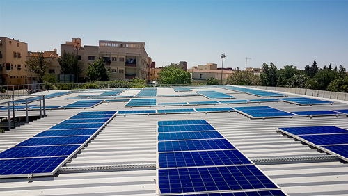 CRO Solar Photovoltaic Carport - Morocco