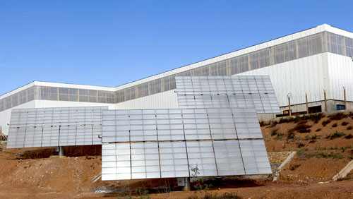 Tracker Solar Power Plant in Skhirat - Morocco